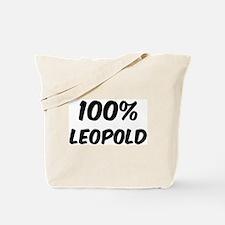 100 Percent Leopold Tote Bag