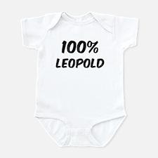 100 Percent Leopold Infant Bodysuit
