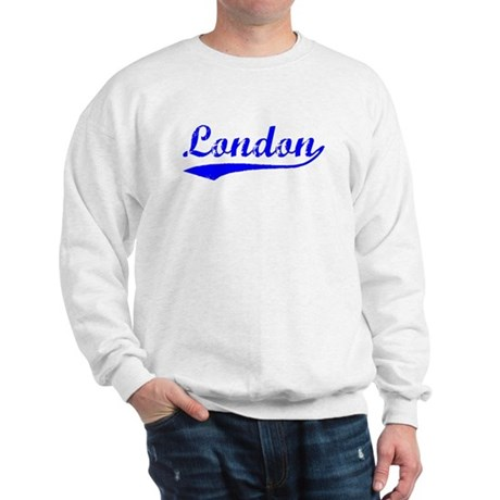 Vintage London (Blue) Sweatshirt