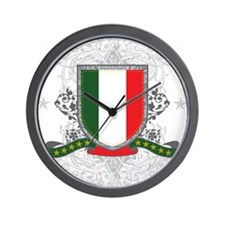 Italy Shield Wall Clock