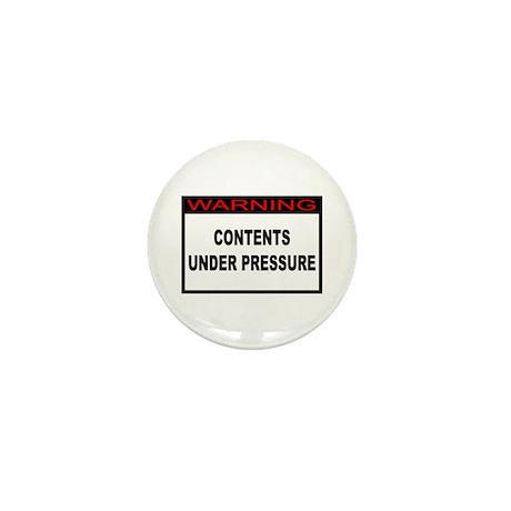 Contents Under Pressure Mini Button (10 pack)
