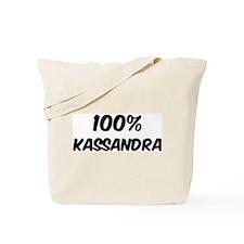100 Percent Kassandra Tote Bag