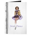 Journal irish dancer (gold)