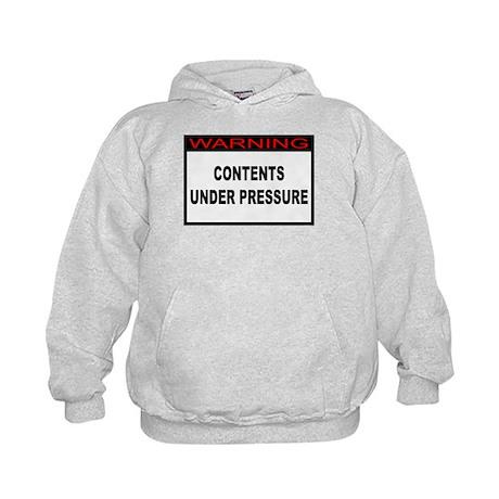 Contents Under Pressure Kids Hoodie