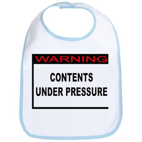 Contents Under Pressure Bib