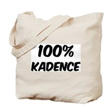 100 Percent Kadence Tote Bag