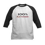 100 Percent Auctioneer Kids Baseball Jersey