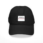 100 Percent Auctioneer Black Cap