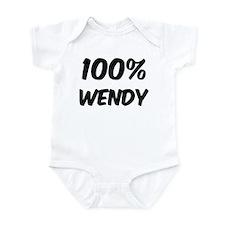 100 Percent Wendy Onesie