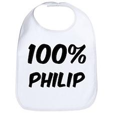 100 Percent Philip Bib