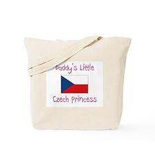 Daddy's little Czech Princess Tote Bag