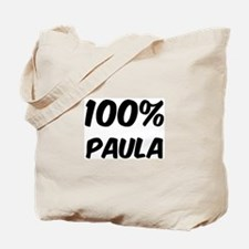 100 Percent Paula Tote Bag