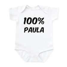 100 Percent Paula Infant Bodysuit