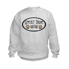 Great Dane Mom Oval Jumpers