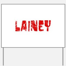 Lainey Faded (Red) Yard Sign