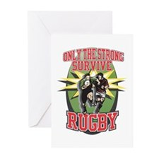Rugby Survival Greeting Cards (Pk of 20)