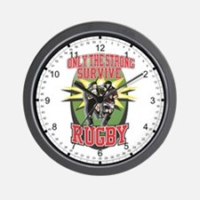 Rugby Survival Wall Clock