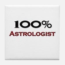 100 Percent Astrologist Tile Coaster