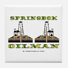 Springbok Oilman Tile Coaster