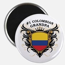 Number One Colombian Grandpa Magnet