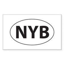 None of your business! (NYB) Rectangle Decal