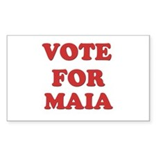 Vote for MAIA Rectangle Decal
