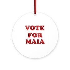 Vote for MAIA Ornament (Round)