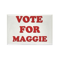 Vote for MAGGIE Rectangle Magnet (10 pack)