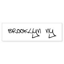 Brooklyn NY Bumper Bumper Sticker