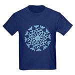 Flowerflake Kids Dark T-Shirt