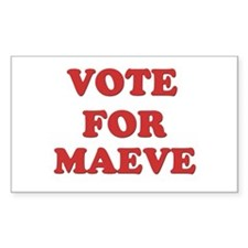 Vote for MAEVE Rectangle Decal