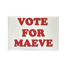Vote for MAEVE Rectangle Magnet