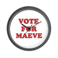 Vote for MAEVE Wall Clock
