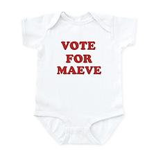 Vote for MAEVE Infant Bodysuit