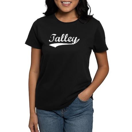 Vintage Talley (Silver) Women's Dark T-Shirt