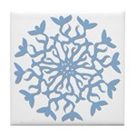 Flowerflake Tile Coaster