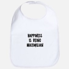 Happiness is being Maximilian Bib
