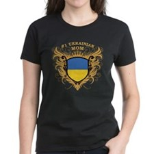 Number One Ukrainian Mom Tee