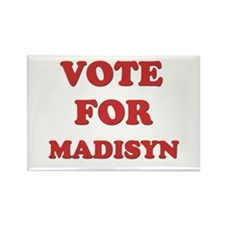 Vote for MADISYN Rectangle Magnet
