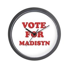 Vote for MADISYN Wall Clock