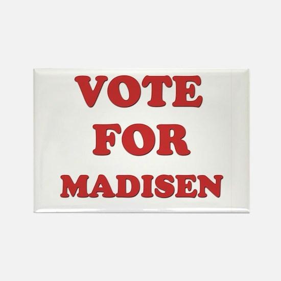 Vote for MADISEN Rectangle Magnet