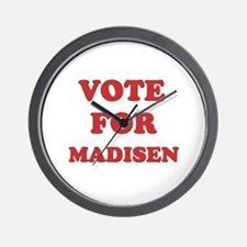Vote for MADISEN Wall Clock
