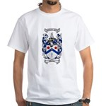 McClure Family Crest White T-Shirt