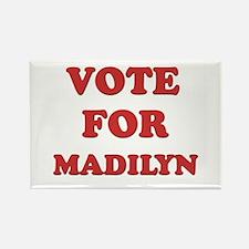 Vote for MADILYN Rectangle Magnet