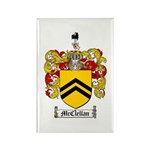 McClellan Family Crest Rectangle Magnet (10 pack)