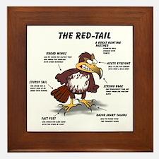 The Red-tail Framed Tile