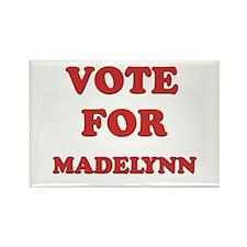 Vote for MADELYNN Rectangle Magnet