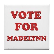 Vote for MADELYNN Tile Coaster
