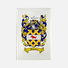 McCann Family Crest Rectangle Magnet (10 pack)
