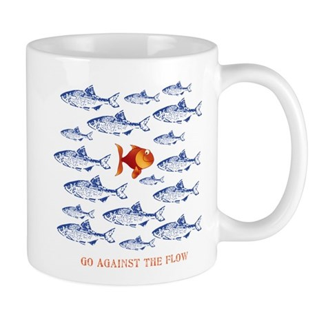 Go Against The Flow Mug